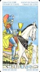 Значение карты Рыцарь Кубков Таро