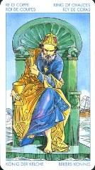 Король кубков таро в отношениях и любви
