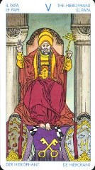 Карта Таро Верховный Жрец, значение и толкование в гадании