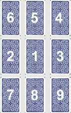 онлайн гадание на Таро Расклад Девять карт