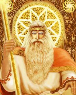 картинки род бог